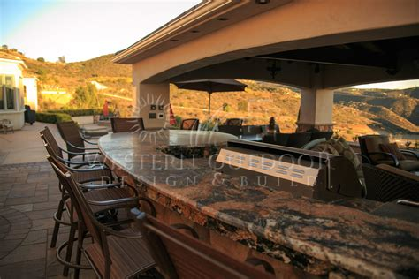 Backyard Bbq Bar Outdoor Kitchens Gallery Western Outdoor Design And Build
