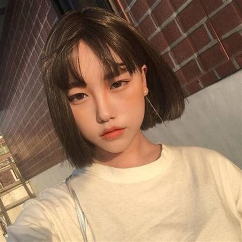 ulzzang hairstyle for round face best short haircuts for fine hair fine short hairstyles