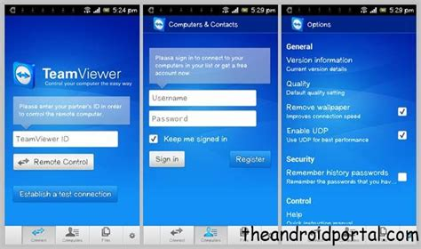 teamviewer for android teamviewer for android your pc using android phone