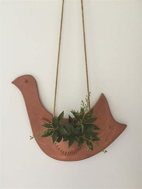 air plant wall holder air plant wall holder rustic pottery terra cotta clay