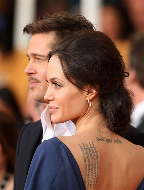 angelina jolie s tattoos photos