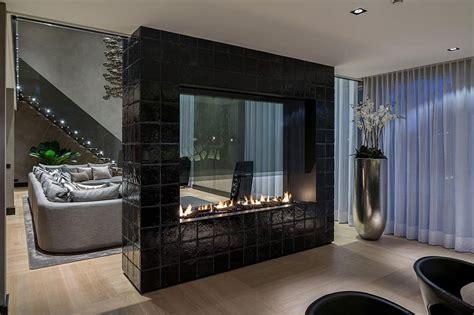 luxurious rotterdam villa embraces chic glamour  rich