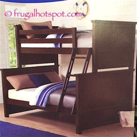 costco loft bed costco sale bayside furnishings twin over full bunk bed 449 99 frugal hotspot