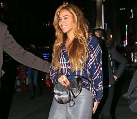 In Beyonces Closet Chanel by Beyonce Pulled A Saddle Bag From The Back Of