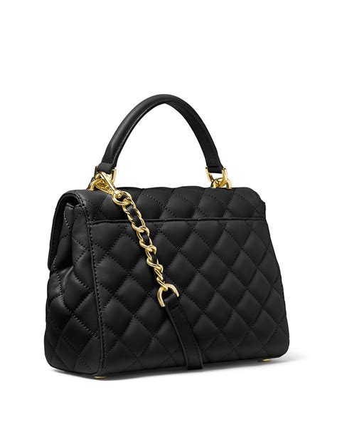 Michael Kors Quilted Handbags by Michael Michael Kors Small Quilted Leather Satchel Bag