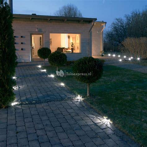 wegbeleuchtung led set konstsmide led borderverlichting startset tuinexpress nl