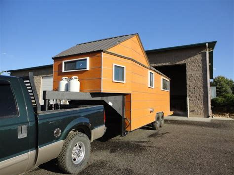 House On Gooseneck Trailer Tiny Living Spaces Pinterest Tiny House On Gooseneck Trailer