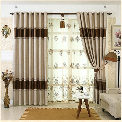 2018 on sale european simple design curtains window drape