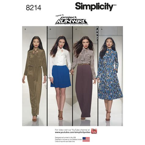 sewing pattern review forum simplicity 8214 misses dresses and jumpsuits