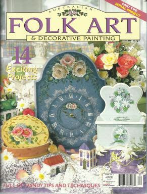 Decorative Painting Magazines by Decorative Painting Bookstore Australian Folk And