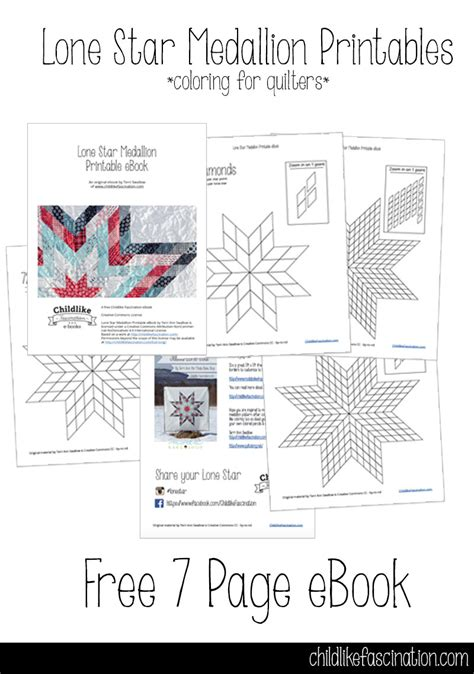 Free Lone Quilt Pattern Template by Jellied Lone Is Up At The Moda Bake Shop