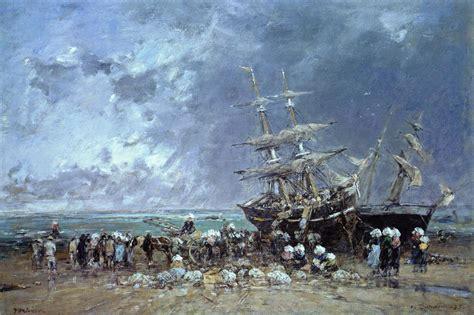types of newfoundland fishing boats unloading the newfoundland fishing boat 1873 eugene