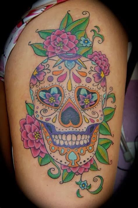 sugar skulls tattoos meaning tattooz designs sugar skull meaning skull
