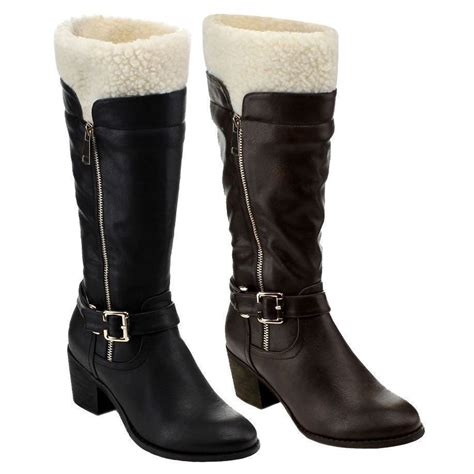 calf high heels womens boots fashion mid calf knee high heels new