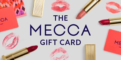 Mecca Gift Card - mecca shop gift cards and egift cards
