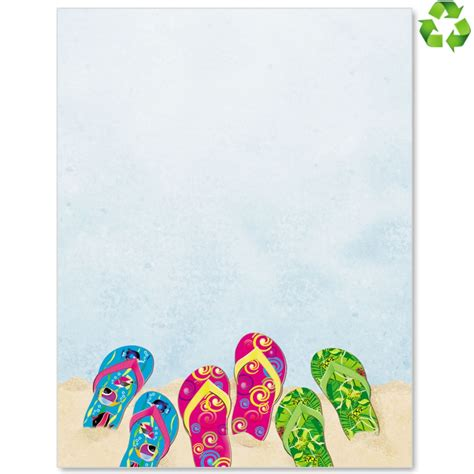 summer stationery printable sunny summer stationery from paperdirect paperdirect blog