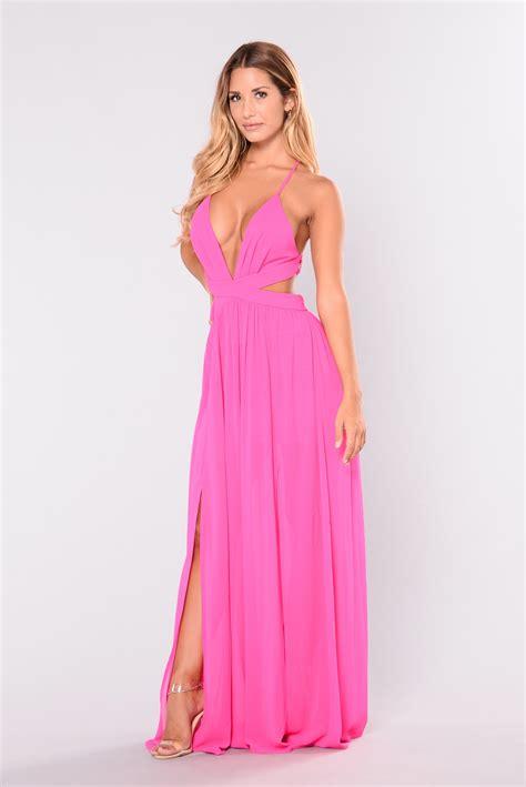 Bw0051 Maxi Dress Pink all summer maxi dress pink