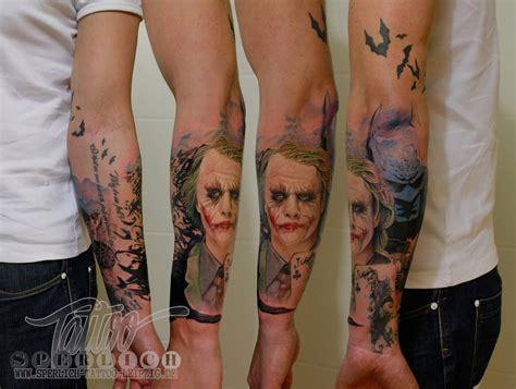 tattoo joker gotham gotham city tattoo sperlich tattoo leipzig