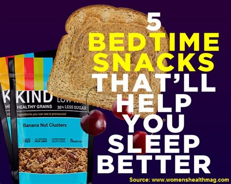 healthy snack before bed 5 bedtime snacks that will help you sleep better home