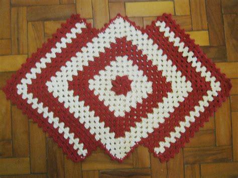 tapetes de croche b43964 tapetes de crochaa pictures to pin on tapete em croche vermelho elo7