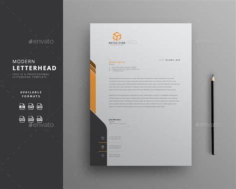 letterhead templates word template business