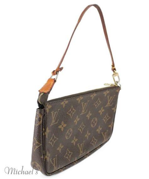 louis vuitton brown monogram leather bag michael s