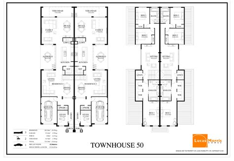 dual occupancy house plans duplex designs floor plans dual occupancy home building plans 52486