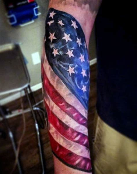 american flag tattoos for men top 60 best american flag tattoos for usa designs