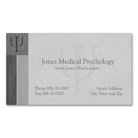 psychologist business card templates free лучших изображений на тему 171 psychology psychologist