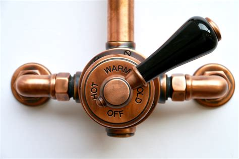 Polished Brass Kitchen Faucet London Exposed Shower Valve Set Chadder Amp Co
