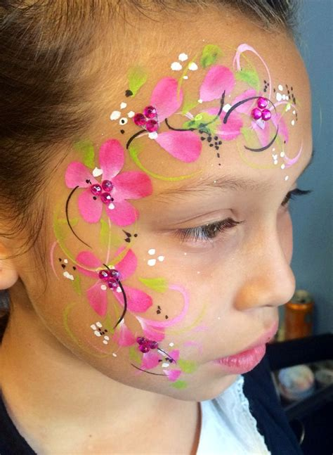 flower makeup painting painting flowers paint inspirations
