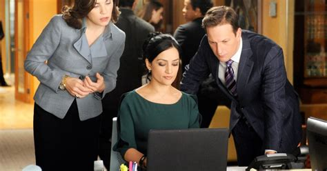 the good wife shooting schedule julianna margulies archie panjabi shot last good wife