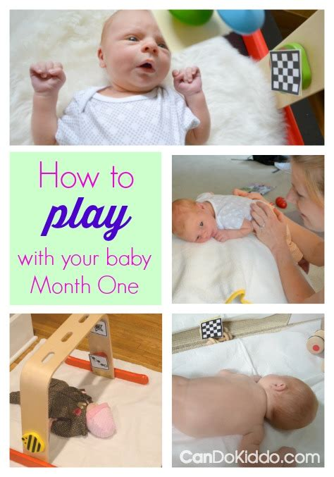 Top 10 Activities With Your Infant by How To Play With Your Newborn Month 1 Cando Kiddo