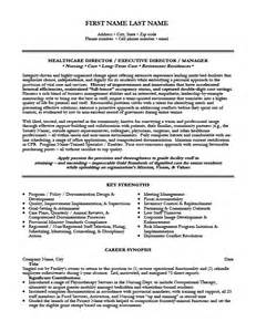 director resume template health care director resume template premium resume