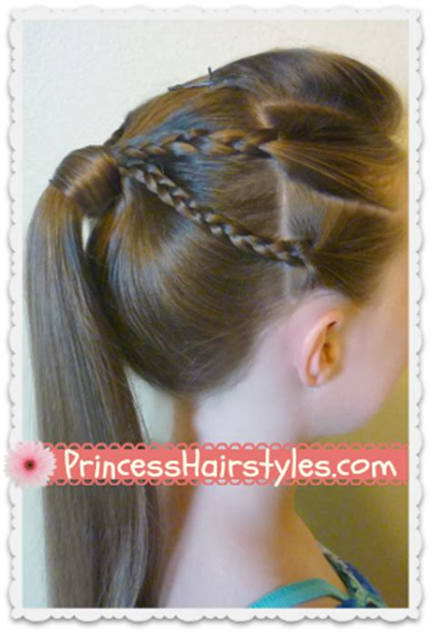 edgy hairstyles step by step double braided edgy ponytail hairstyle hairstyles for