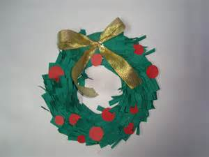 Christmas wreath kids crafts amp activities