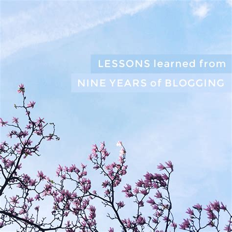 Lessons Learned From Years With Businesses by Lessons Learned From Nine Years Of Blogging