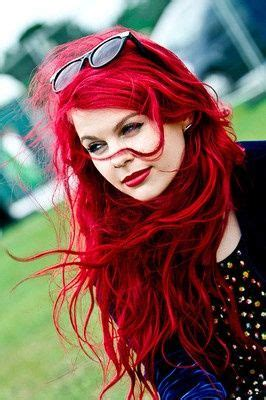 manic panic vire red hair pillarbox red by manic panic red hair pinterest red