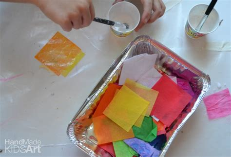 wax paper crafts for suncatcher projects for steam lab