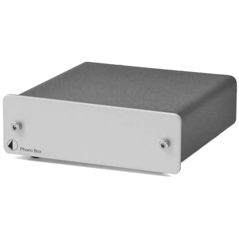 phono eingang mm pro ject phono box phono vorverst 228 rker mm mc silber
