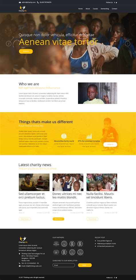 blogger templates for ngo charitylife ngo charity fundraising psd template by