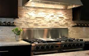 modern kitchen stone backsplash ideas glass throughout