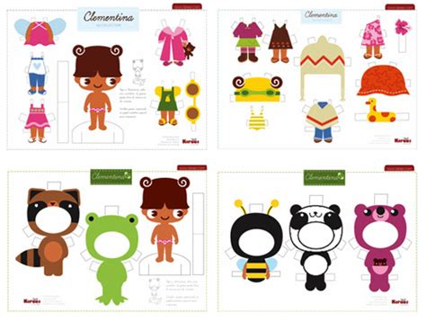 Free Craft Papers To Print - 7 best images of free printable paper dolls crafts free