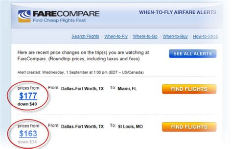 top 3 ways to signup and save on flights farecompare