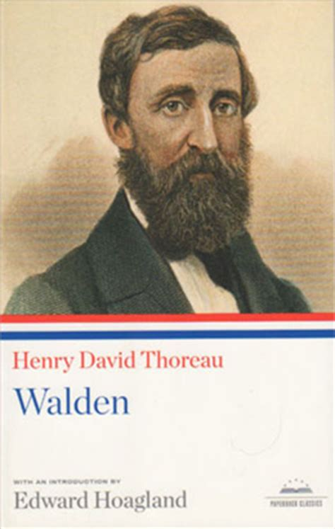 the book walden began henry david thoreau walden paperback classic library