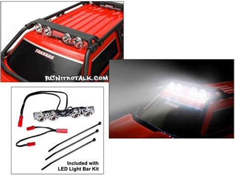 Traxxas Led Light Bar Traxxas Summit 4 Led Light Bar Rcnitrotalk