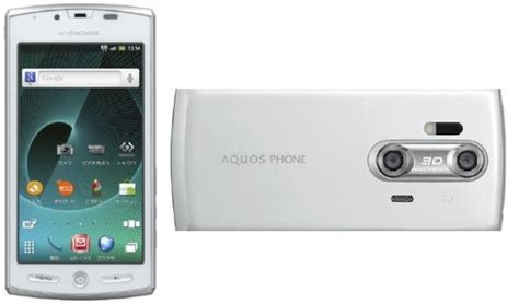 Tv Sharp Aquos Android sharp set for european 3d android smartphone release