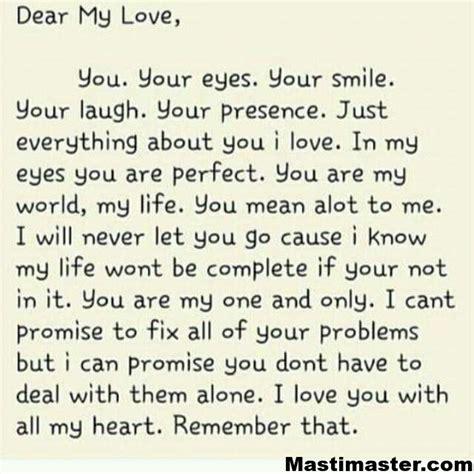 Love Letter for her   Masti Master
