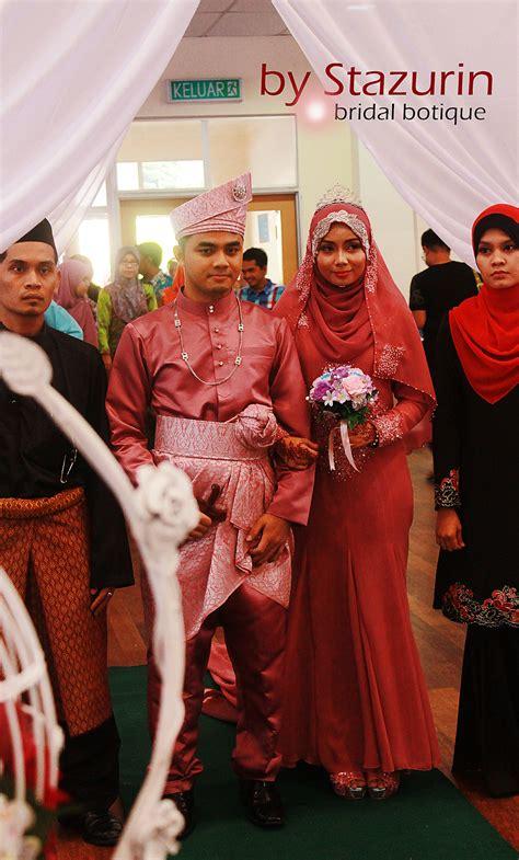 baju pengantin tunang nikah resepsi perkahwinan stazurinweddings pelamin dewan pelamin tunang mini pelamin