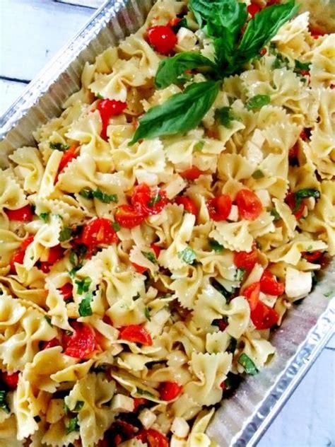 pasta salad ideas caprese pasta salad italian pinterest picnic foods